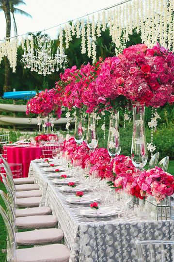 luxury wedding decor maui wedding