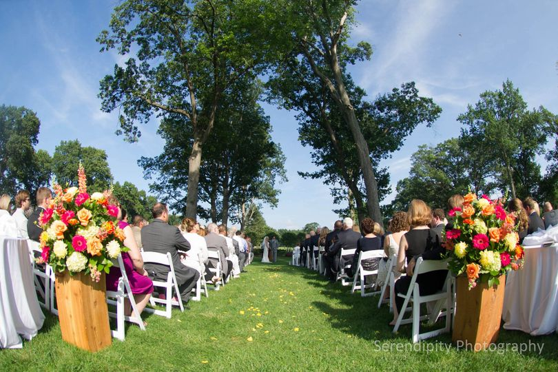 stone oak outdoor wedding