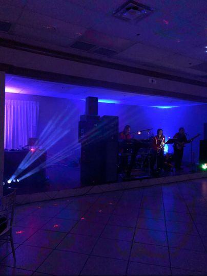 DJ Rey lights