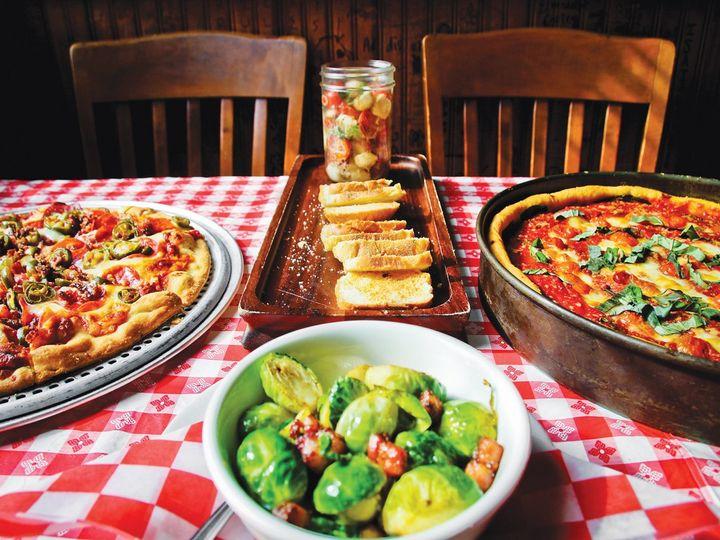 An array of cuisine