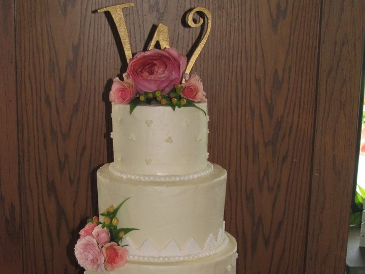 Tmx 1403786408243 Ashley Greensboro wedding cake