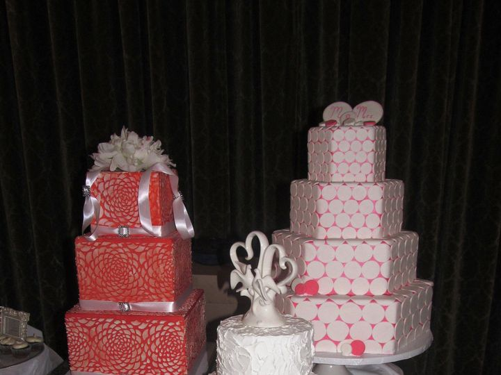 Tmx 1403786441320 Bridal Show Castle Mc Greensboro wedding cake