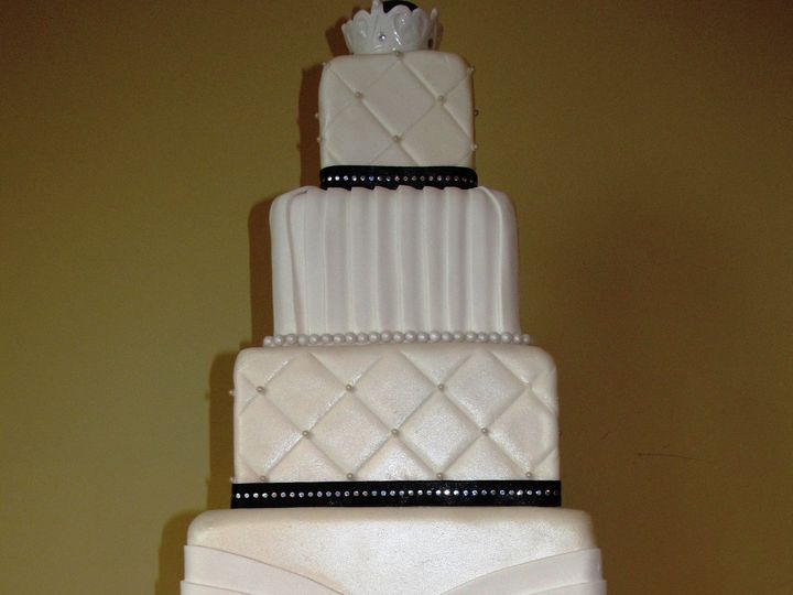 Tmx 1403786470935 Broach Greensboro wedding cake