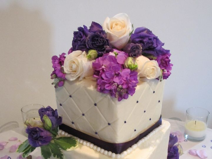 Tmx 1403786645465 Purple Greensboro wedding cake