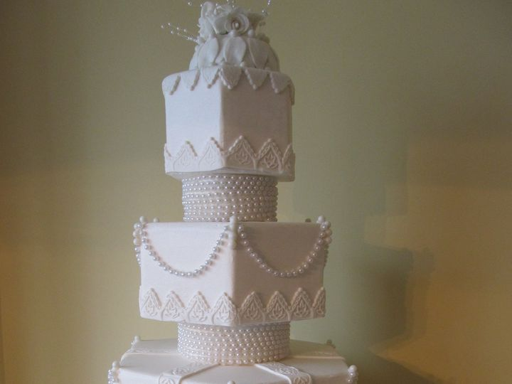Tmx 1403786783994 Vintage Greensboro wedding cake