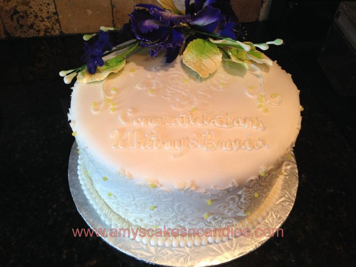 Tmx 1403787158160 Whitney Greensboro wedding cake