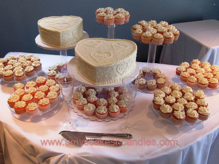 Tmx 1403787490020 Heaths Cupcakes Greensboro wedding cake