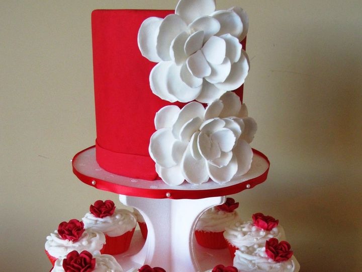 Tmx 1403787516845 Red Cc Tower Greensboro wedding cake