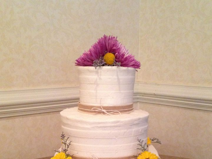 Tmx 1411519117444 Burlapmagnolia Greensboro wedding cake