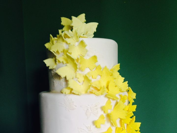 Tmx 1411519149273 Butterfly4 Greensboro wedding cake