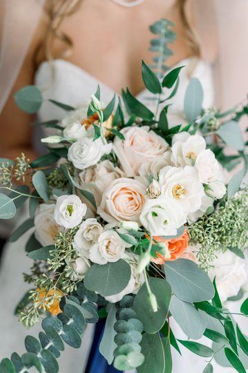 Peachy Coral Bouquet @woj