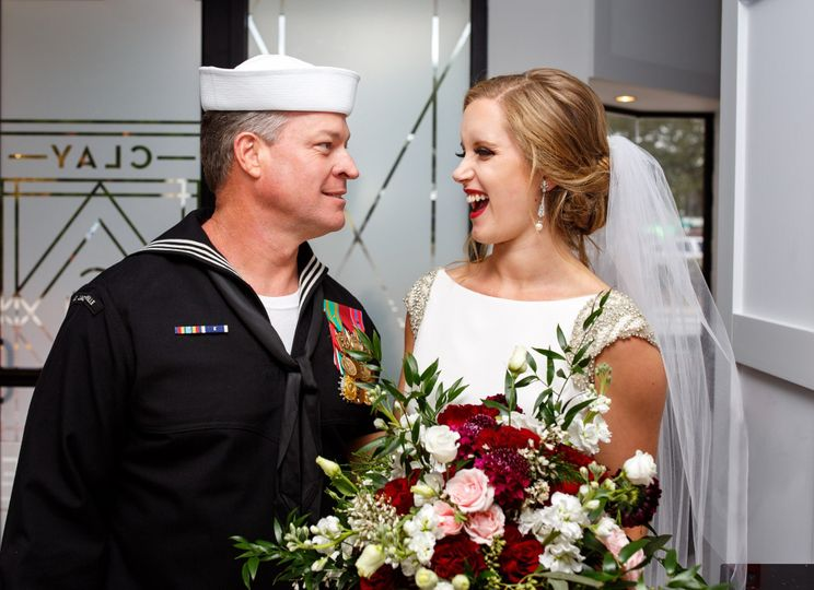 Bride and Daddy by Ivey Photo