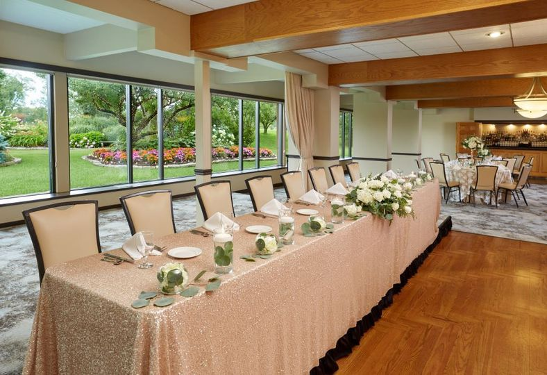 West Garden Room Head Table