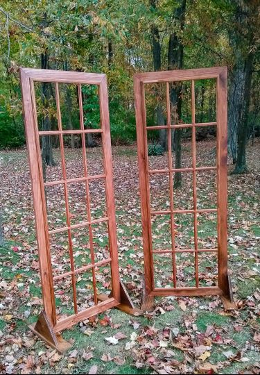 Standing Frames for backdrop or card holders