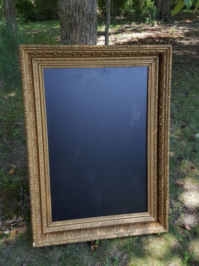 Large Frames for Chalkboards