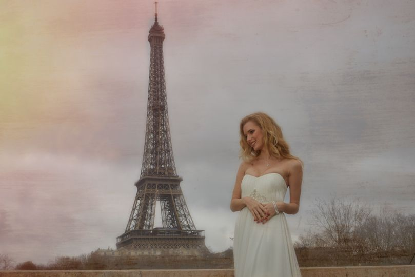 Paris, Wedding, France, Bride,