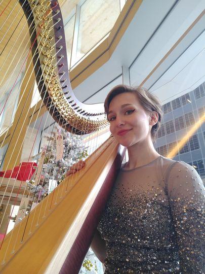 Christmas Harping