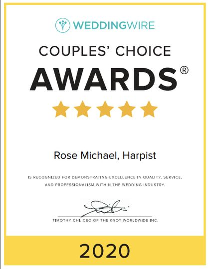 2020 Couples Awards winner