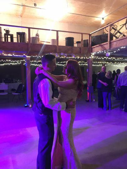 First dance memories