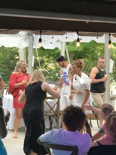 Summer lovin' Had me a blast!  with Indy Wedding DJs!