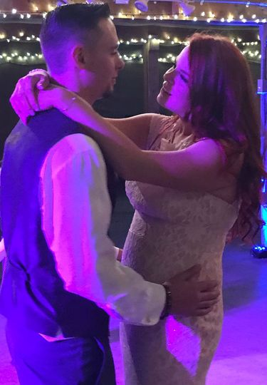 A very special First dance...The look of love is priceless!
