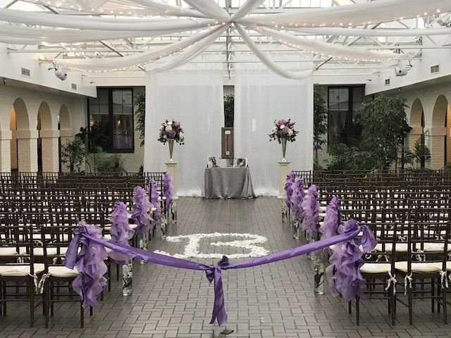 Providing ceremony sound and music, with discrete lavalier microphones, so everyone can hear!