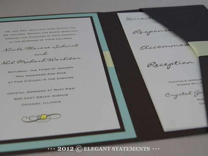 Tmx 1341263083030 DSC04753web Littleton wedding invitation