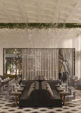 Madam restaurant interior