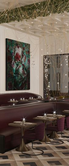 Sleek and modern decor