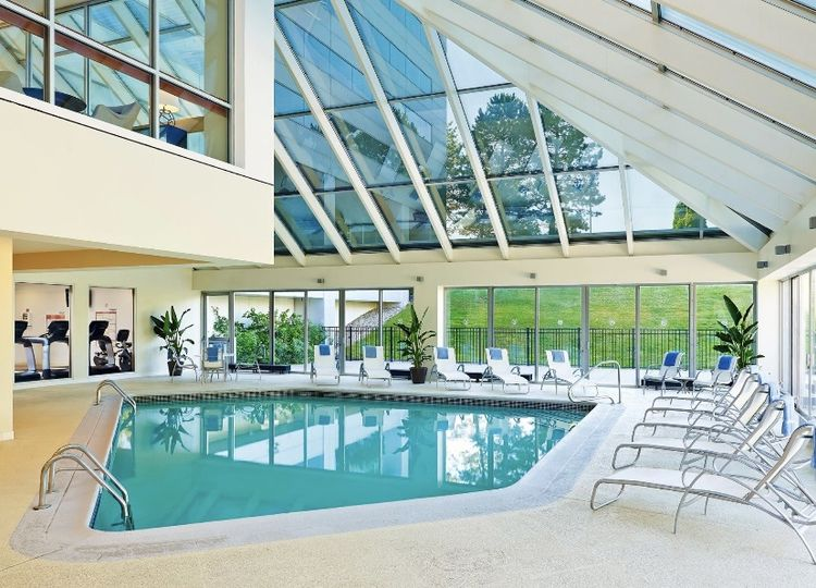 Indoor Pool and Pool Deck