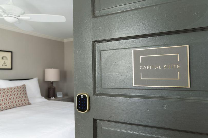Suites with digital locks