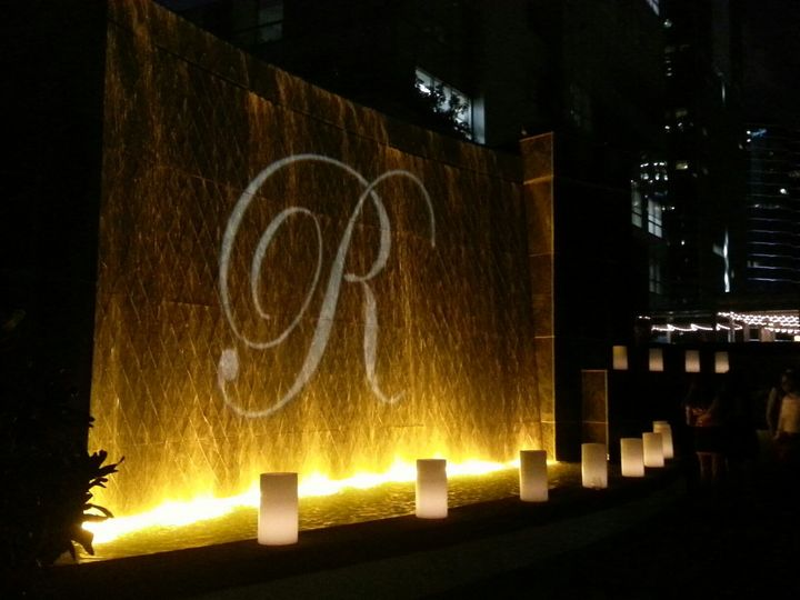 Tmx 1443660276584 Four Seasons Hotel Miami Waterfall Gobo 3 Hollywood, Florida wedding eventproduction