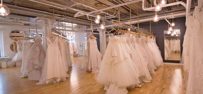 On site bridal shop