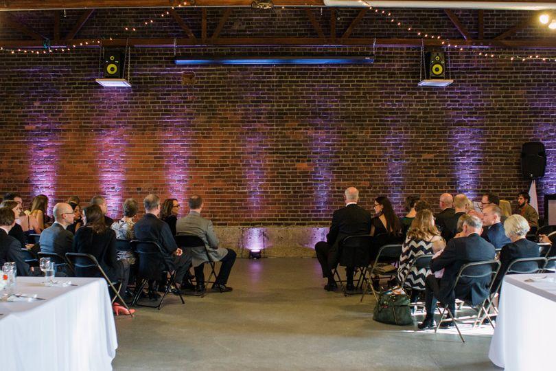 514 studios wedding ceremony reception venue wedding