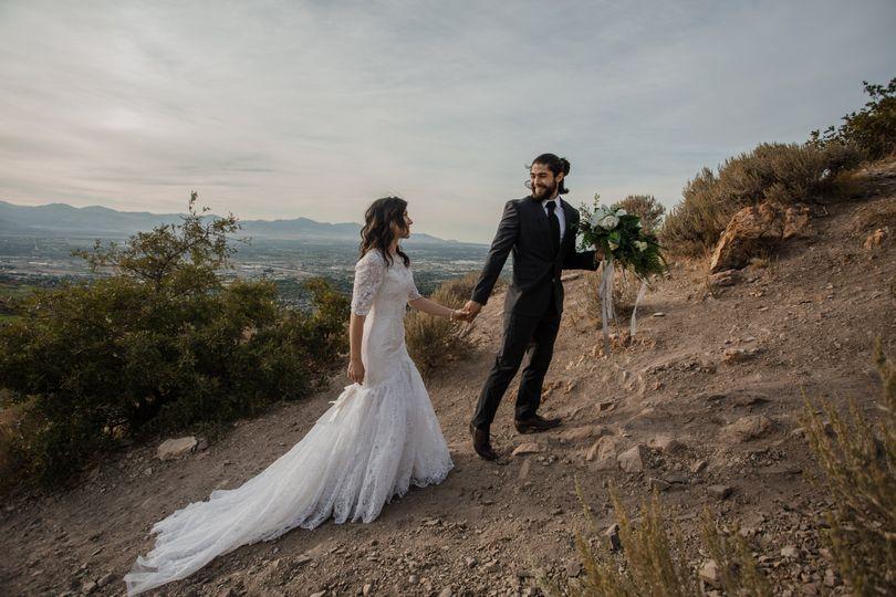 Valley view bridals
