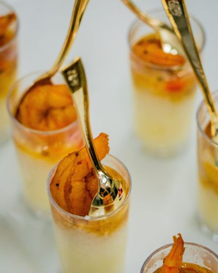 Shrimp and Grits Shooters