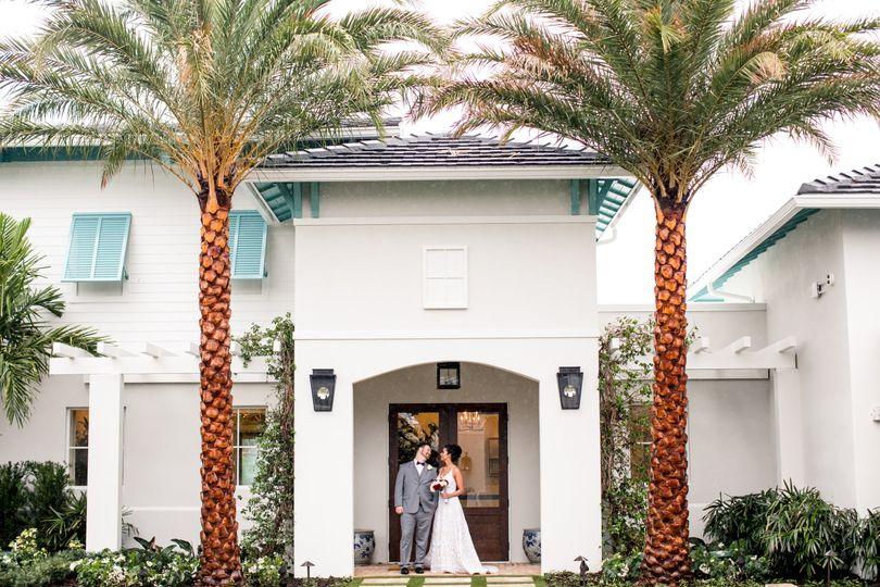 Bride & Groom Courtyard