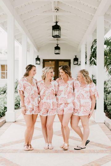 Bridesmaid Walkway