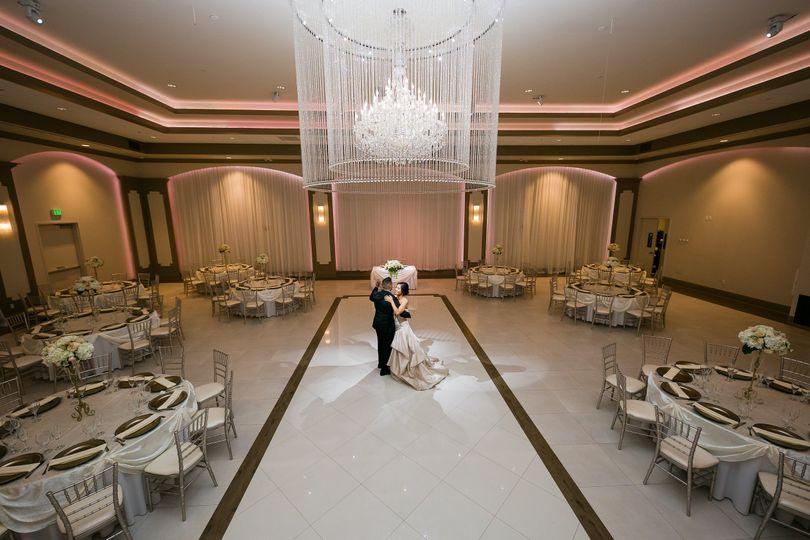 Crystal Ballroom.