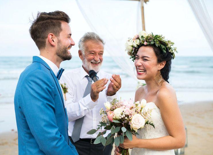 Beach wedding - Charles