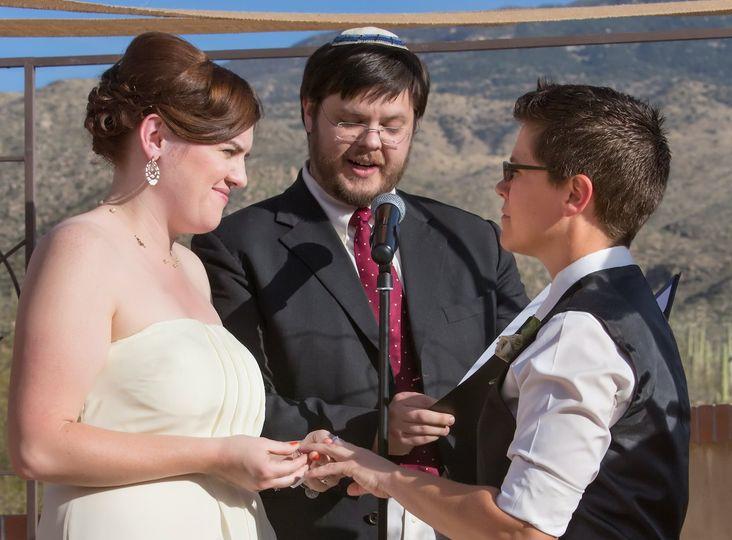 LGBT and Jewish wedding - David