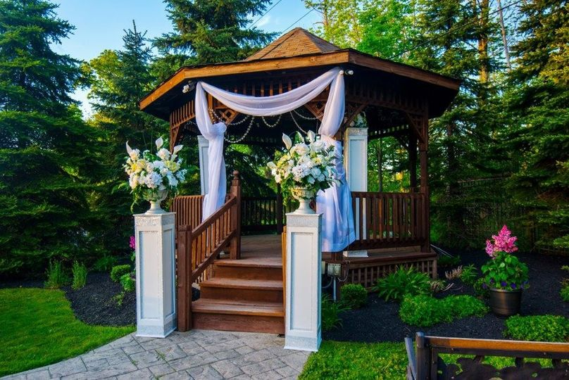 Gazebo decoration
