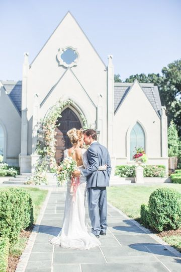 Wedding at park chateau