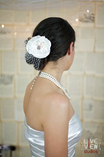 """The """"Lola"""" Floral Hairpiece"""