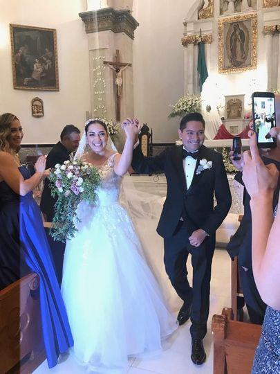 Smokin, vestidos de novia