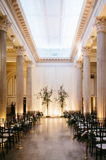 """From the Bride: The trees were exactly what I had dreamed they would be""""  Design, Florals & Rentals..."""