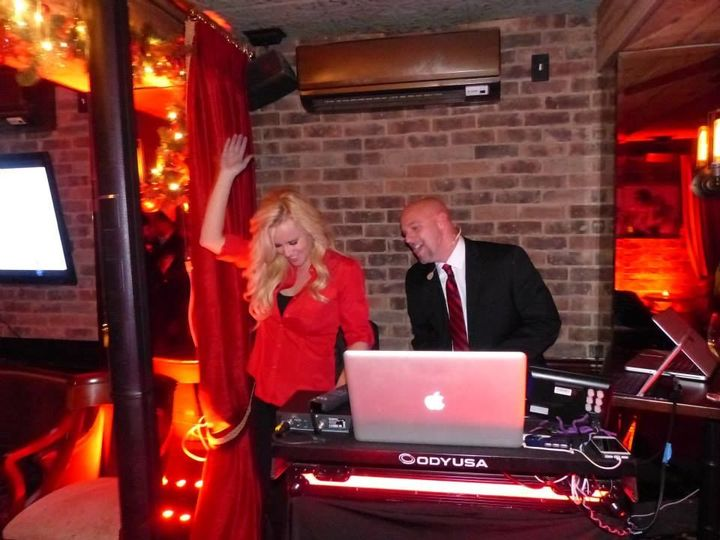 DJ with guest