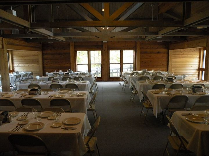 Dining Hall Set for Reception