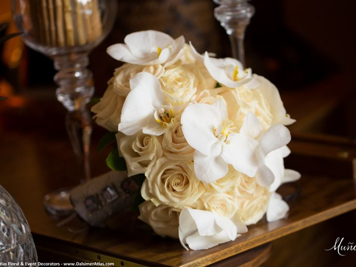 Tmx 1441927964693 Bridal Bouquet Wedding Flowers Dalsimer Atlas 109 Deerfield Beach, Florida wedding florist