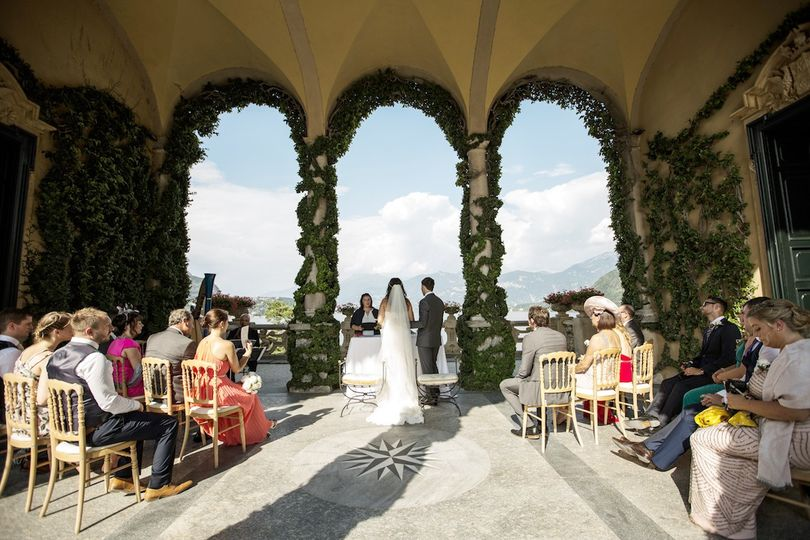 Lake Como dream wedding venue